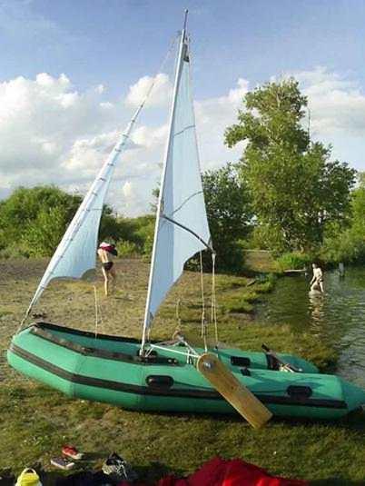 описание лодки парус